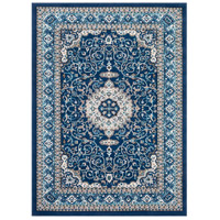 41ELIZABETH 50936-NB Amanda 87 X 63 inch Navy/Sky Blue/Dark Brown/Camel/Medium Gray/Ivory Rugs, Rectangle thumb