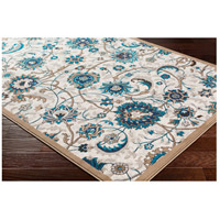 41ELIZABETH 50969-CB Amanda 35 X 24 inch Camel/Sky Blue/Dark Brown/Navy/Medium Gray/Ivory Rugs, Rectangle cmt2319_corner.jpg thumb