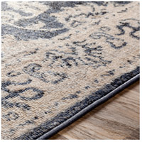 41ELIZABETH 51587-DG Aquamarine 87 X 63 inch Denim/Light Gray/Wheat/Charcoal/Black/Cream Rugs cyl2306-texture.jpg thumb