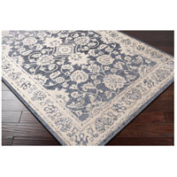 41ELIZABETH 51587-DG Aquamarine 87 X 63 inch Denim/Light Gray/Wheat/Charcoal/Black/Cream Rugs cyl2306_corner.jpg thumb