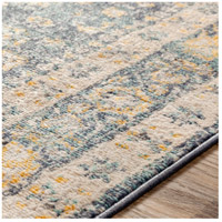 41ELIZABETH 51620-DG Aquamarine 87 X 63 inch Denim/Saffron/Cream/Wheat/Aqua/Light Gray/Charcoal Rugs cyl2322-texture.jpg thumb