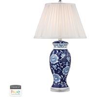41 Elizabeth 40030-BL Colbert 28 inch 60 watt Blue/White Table Lamp Portable Light in Dimmer Hue LED Philips Friends of Hue