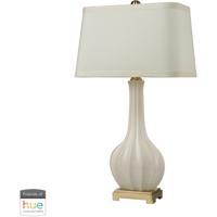41 Elizabeth 40035-BL Major 34 inch 60 watt Brass/White Table Lamp Portable Light in Dimmer Hue LED Philips Friends of Hue