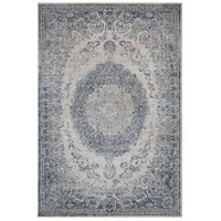 41ELIZABETH 42344-GG Ademaro 114 X 79 inch Gray and Gray Area Rug, Polypropylene and Chenille thumb