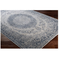 41ELIZABETH 42344-GG Ademaro 114 X 79 inch Gray and Gray Area Rug, Polypropylene and Chenille dur1008_corner.jpg thumb