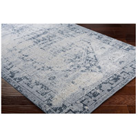 41ELIZABETH 51825-MG Ademaro 87 X 63 inch Medium Gray/Charcoal/Ink/Khaki/Beige Rugs, Polypropylene and Chenille dur1009_corner.jpg thumb