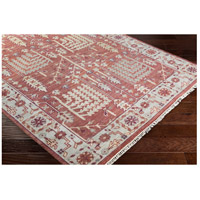 41ELIZABETH 52340-CF Ace 156 X 108 inch Clay/Burgundy/Khaki/Sea Foam/Butter/Tan Rugs, Wool exi1005_corner.jpg thumb