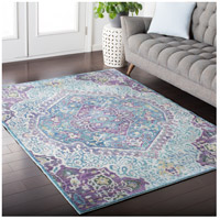 41ELIZABETH 52495-BP Ayland 94 X 34 inch Bright Purple/Pale Blue/Teal/Lime/Dark Green/Camel Rugs, Polyester ger2304-roomscene_201.jpg thumb