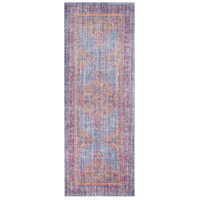 41ELIZABETH 52506-VP Ayland 34 X 24 inch Violet/Bright Purple/Saffron/Bright Pink Rugs, Polyester thumb