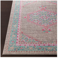 41ELIZABETH 52522-TP Ayland 94 X 34 inch Teal/Taupe/Bright Pink Rugs, Polyester ger2315-front.jpg thumb