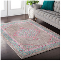 41ELIZABETH 52522-TP Ayland 94 X 34 inch Teal/Taupe/Bright Pink Rugs, Polyester ger2315-roomscene_201.jpg thumb