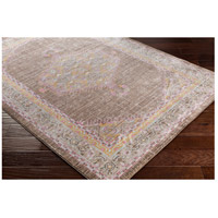 41ELIZABETH 52528-BP Ayland 34 X 24 inch Bright Pink/Dark Brown/Taupe/Bright Yellow Rugs, Polyester ger2316_corner.jpg thumb