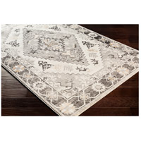 41ELIZABETH 53625-CG Alton 87 X 63 inch Charcoal/Medium Gray/Black/Tan/Beige/White Rugs igo2311_corner.jpg thumb