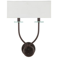 41ELIZABETH 47640-B Junius 2 Light 13 inch Wall Sconce Wall Light