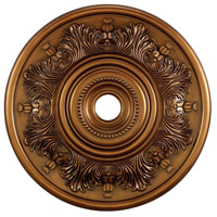 41ELIZABETH 40318-AB Laird Antique Bronze Medallion