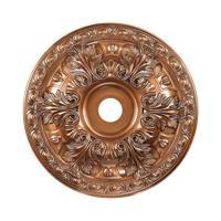 41ELIZABETH 40322-AB Blaze Antique Bronze Medallion