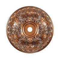 41ELIZABETH 40324-AB Blaze Antique Bronze Medallion
