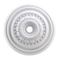41ELIZABETH 40327-W Carlyle White Medallion