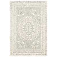 41ELIZABETH 55181-SF Alvina 90 X 60 inch Sea Foam/Sage/Cream Rugs thumb