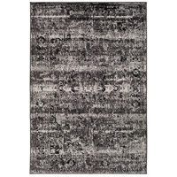41ELIZABETH 55421-CG Adora 93 X 63 inch Charcoal/Black/Medium Gray Rugs, Polypropylene thumb