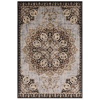 41ELIZABETH 55487-MG Adora 93 X 63 inch Medium Gray/Black/Charcoal/Dark Brown/Khaki/Beige Rugs, Rectangle thumb