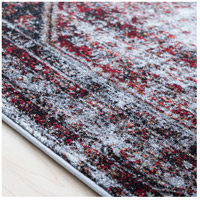 41ELIZABETH 57488-MG Brandon 87 X 31 inch Medium Gray/Black/Ivory/Dark Red/Tan Rugs, Polypropylene srp1009-texture.jpg thumb