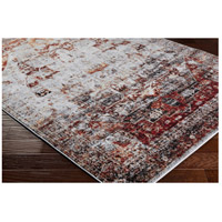 41ELIZABETH 57494-DR Brandon 35 X 24 inch Dark Red/Ivory/Black/Bright Orange/Medium Gray Rugs, Polypropylene srp1010_corner.jpg thumb