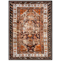 41ELIZABETH 45272-BO Brandon 114 X 79 inch Bright Orange Indoor Area Rug, Rectangle thumb