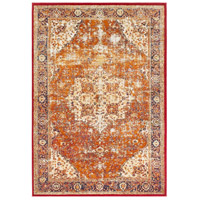 41ELIZABETH 57532-BO Brandon 87 X 63 inch Bright Orange/Dark Red/Bright Yellow/Ivory Rugs, Rectangle thumb