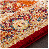 41ELIZABETH 57532-BO Brandon 87 X 63 inch Bright Orange/Dark Red/Bright Yellow/Ivory Rugs, Rectangle srp1019-texture.jpg thumb