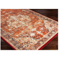 41ELIZABETH 57532-BO Brandon 87 X 63 inch Bright Orange/Dark Red/Bright Yellow/Ivory Rugs, Rectangle srp1019_corner.jpg thumb