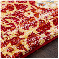 41ELIZABETH 57546-DR Brandon 87 X 63 inch Dark Red/Bright Orange/Ivory/Bright Yellow Rugs, Rectangle srp1021-texture.jpg thumb