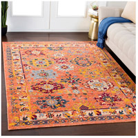 41ELIZABETH 57884-BO Brea 33 X 24 inch Bright Orange/Medium Gray/Wheat/Denim/Dark Red Rugs, Rectangle tzr1001-roomscene_201.jpg thumb
