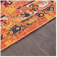 41ELIZABETH 57884-BO Brea 33 X 24 inch Bright Orange/Medium Gray/Wheat/Denim/Dark Red Rugs, Rectangle tzr1001-texture.jpg thumb