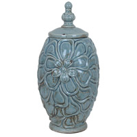 Large Flowered Vase