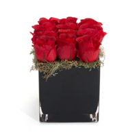 Ravishing Red Artificial Flower or Plant