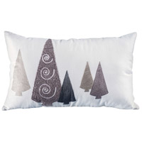 Modern Trees Decorative Pillow