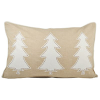 Winter Edge Decorative Pillow