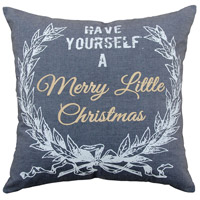 Merry Lil Christmas Decorative Pillow