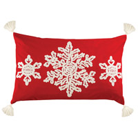 Winter Crystals Decorative Pillow