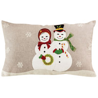 Winter Merriment Decorative Pillow