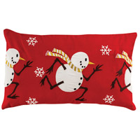 Winter Chase Decorative Pillow