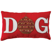 Ornamental DOG Decorative Pillow