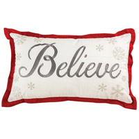 Believe Decorative Pillow