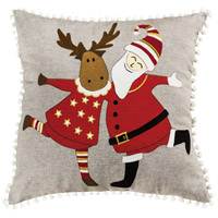 Celebration on Ice Decorative Pillow