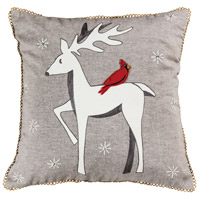 Winter Patrons Decorative Pillow