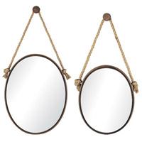 Mirror on rope Mirror