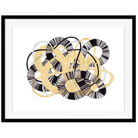 Sandworm Iii (black & Gold) Wall Accent