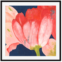 Tulips In Coral Ii Wall Accent