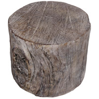 Round Tree Stump 8 inch Natural Stool
